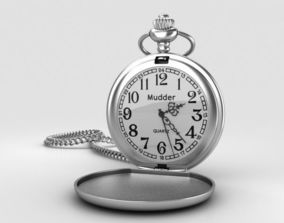 Pocket Watch 3D model pocket