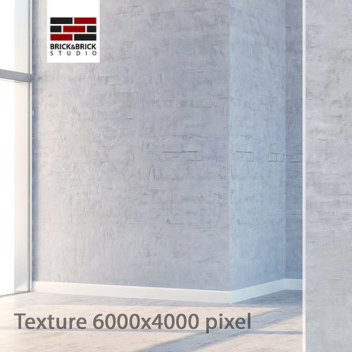 plaster 92 3d model max obj mtl fbx mat 1