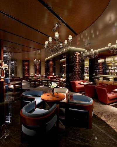 D model cozy restaurant interior photo real cgtrader