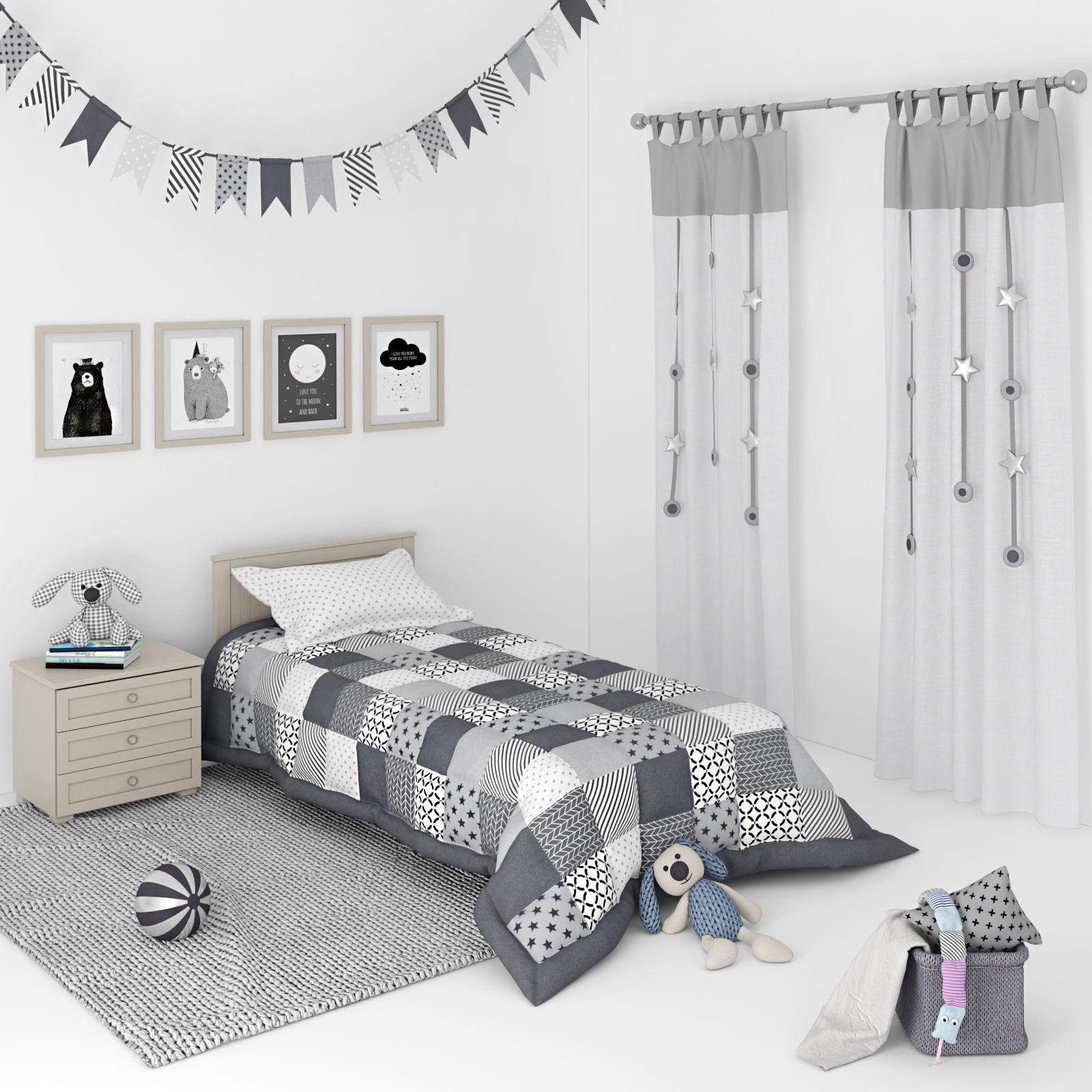 Decorative set for a Kids bedroom