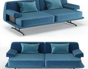 3D Baleri Italia Trays two seating sofa
