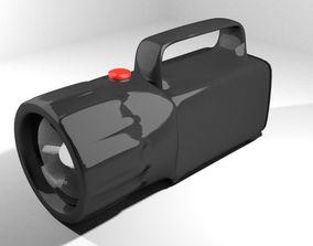 Flashlight - Type 2 3D model