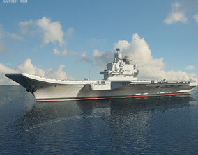 ussr Admiral Kuznetsov aircraft carrier 3D model