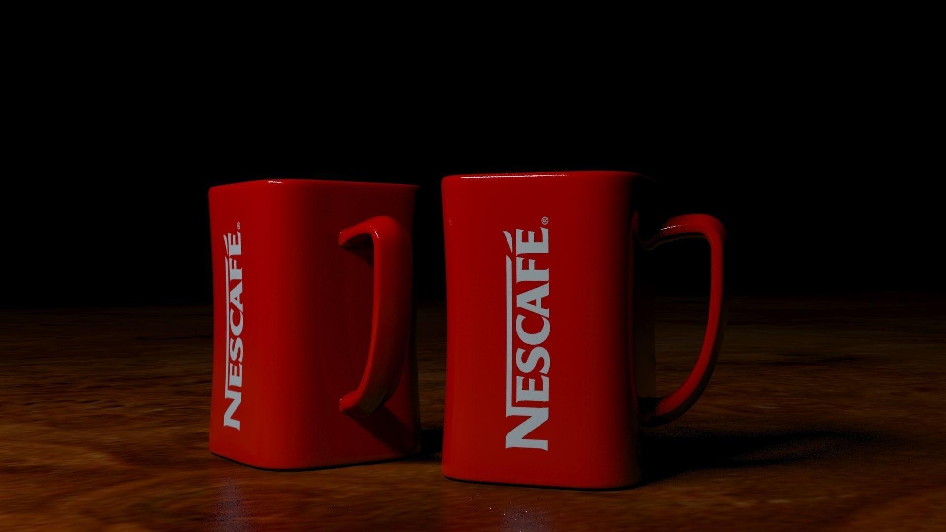 Nescafe Coffee Mug | 3D model