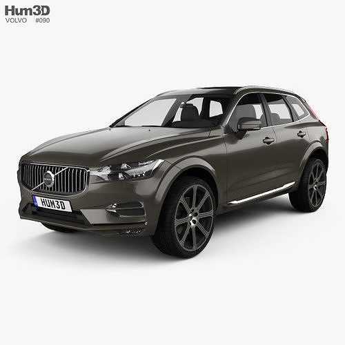 volvo xc60 inscription 2017 3d model max obj mtl 3ds fbx c4d lwo lw lws 1