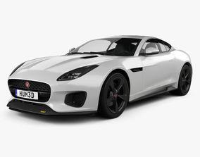 3D Jaguar F-Type 400 Sport Coupe 2017