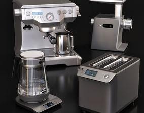 kitchen appliances BORK 3D model