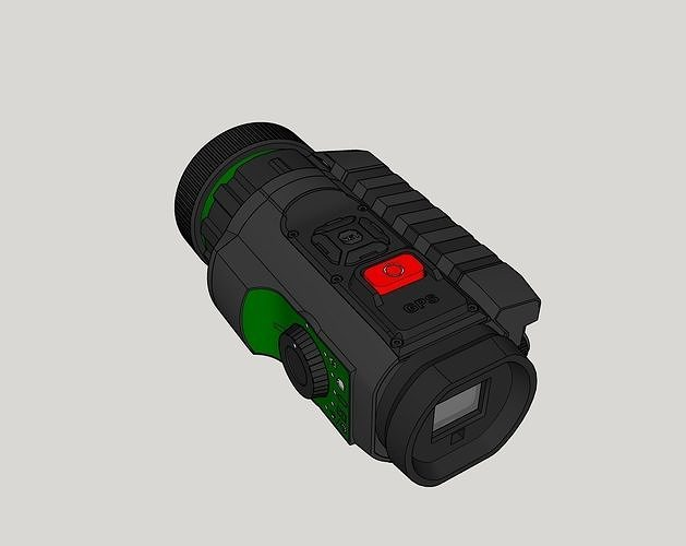 f701f4c39a sionyx aurora color night vision camera 3d model obj mtl 3ds stl dae .