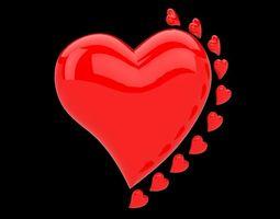 Heart 3d  3D Model