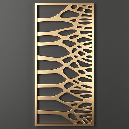 decorative panel 87 3d model max obj mtl fbx mat 1