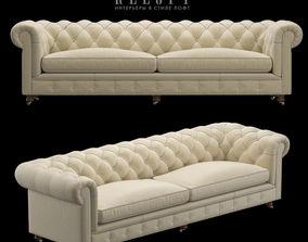 Sofa Chesterfield Kensington 3D model