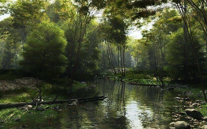 shady brook in vue 3d model vue 1