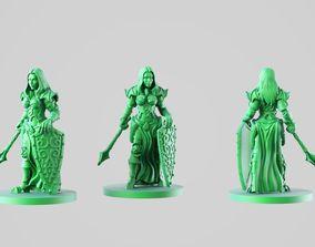 3D printable model Paladin girl