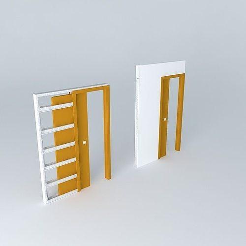 Scrigno sliding door a brick partition wall 70 to 125 or for Door 95 100 doors 3