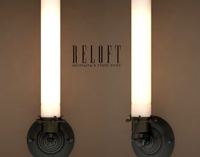 High Lamp Bracket Gunmetal 3D model