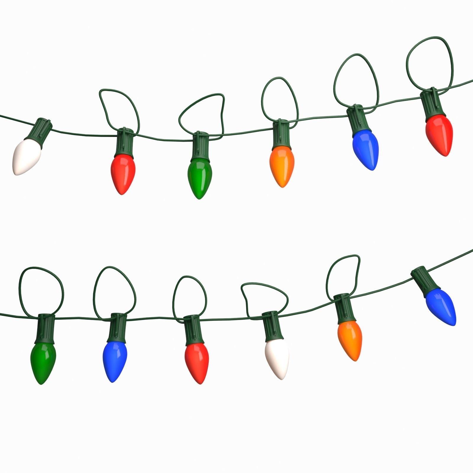 String Of Christmas Lights.String Christmas Light 3d Model