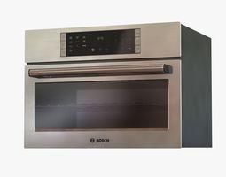 3d model bosch speed microwave