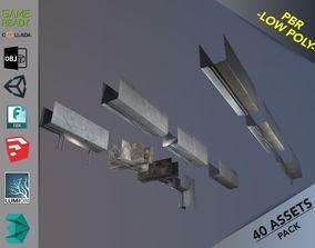 3D model Ceiling Deco Pack