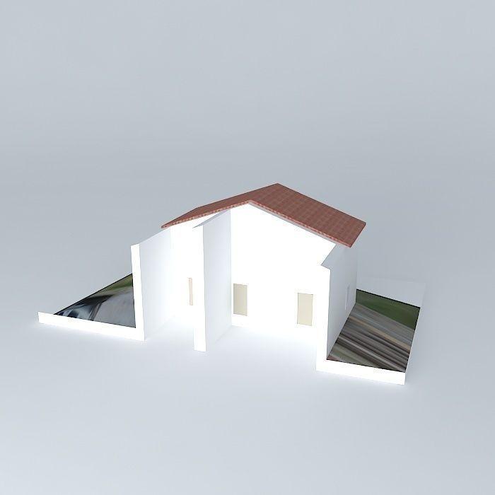 Renovation guest house free 3d model max obj 3ds fbx stl for Guest house models