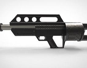 3D military Pancor Jackhammer Shotgun