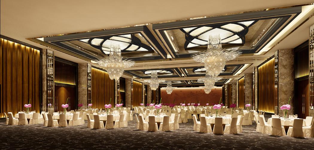 Photo Real Wedding Hall 3d Model Max Cgtrader Com