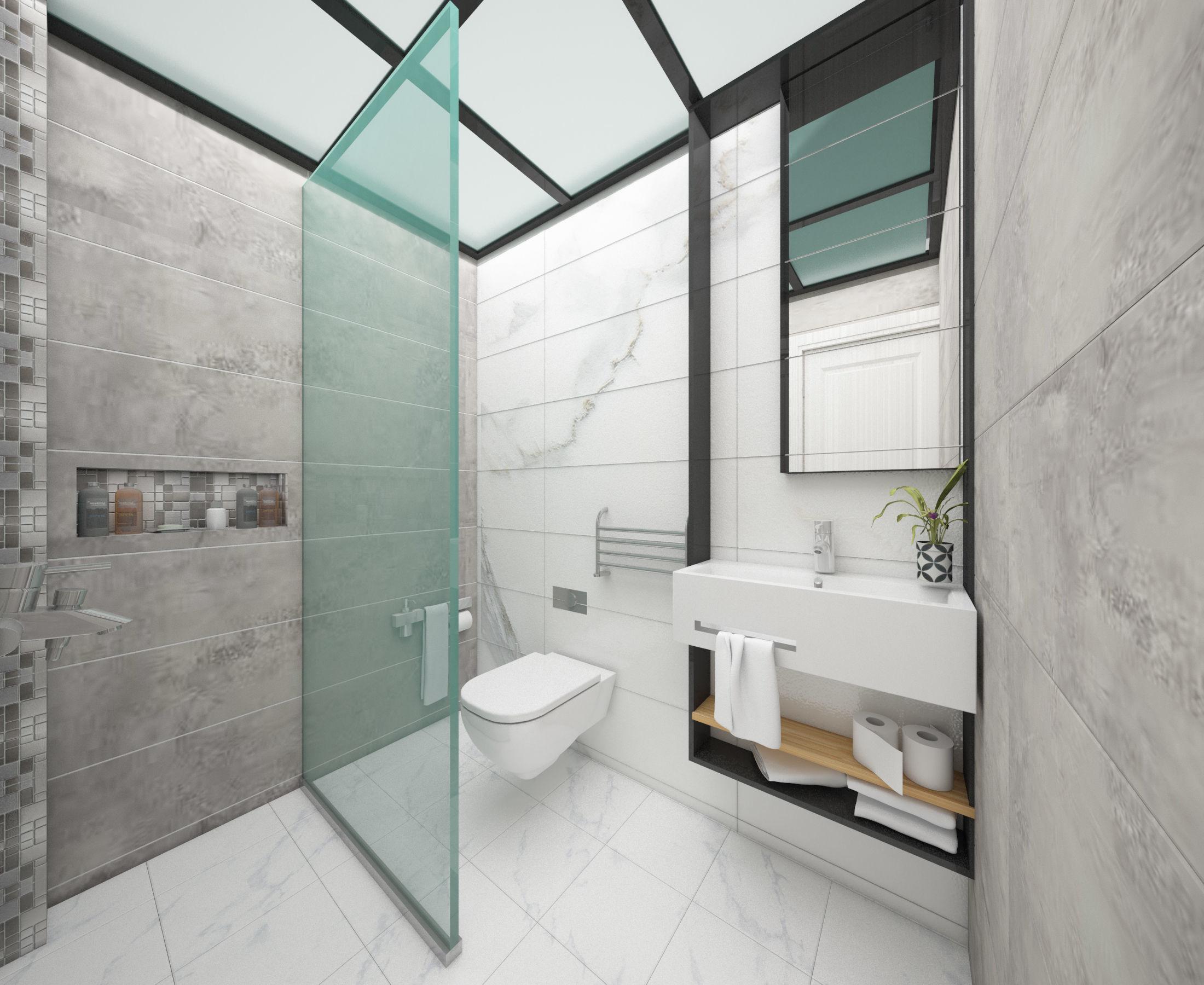 3d Bathroom model 3D model MAX OBJ FBX STL
