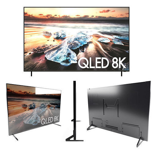 SAMSUNG QLED 8K TV 85 INCH 2018 | 3D model
