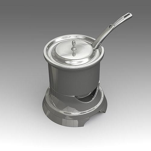 cooking pot 24 3d model fbx lxo lxl 1