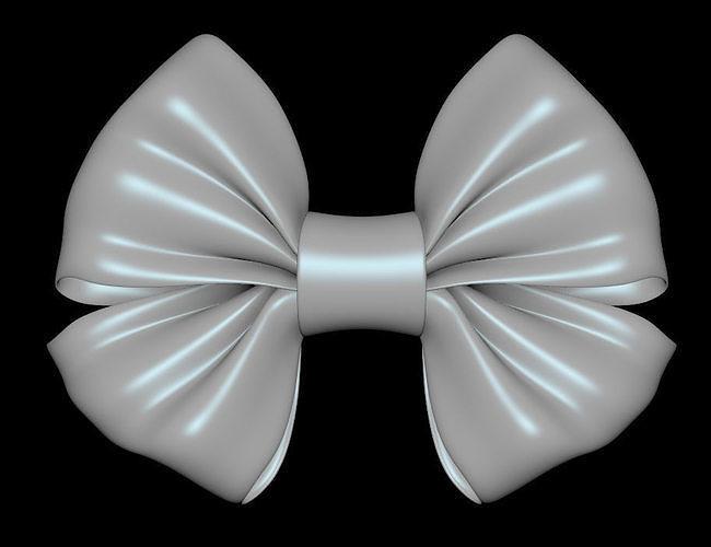 bow tie 01- 3d model obj mtl fbx ma mb stl 1