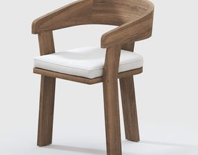 3D model Spin Dining Arm Chair