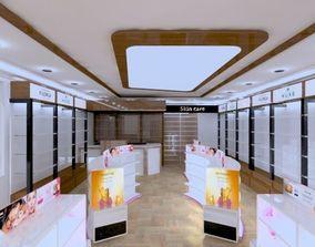 pharmacy interior desgin 3D model