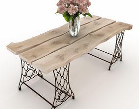 3D Vintage table