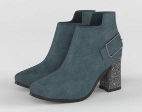 High Heels Womens Shoes 3D