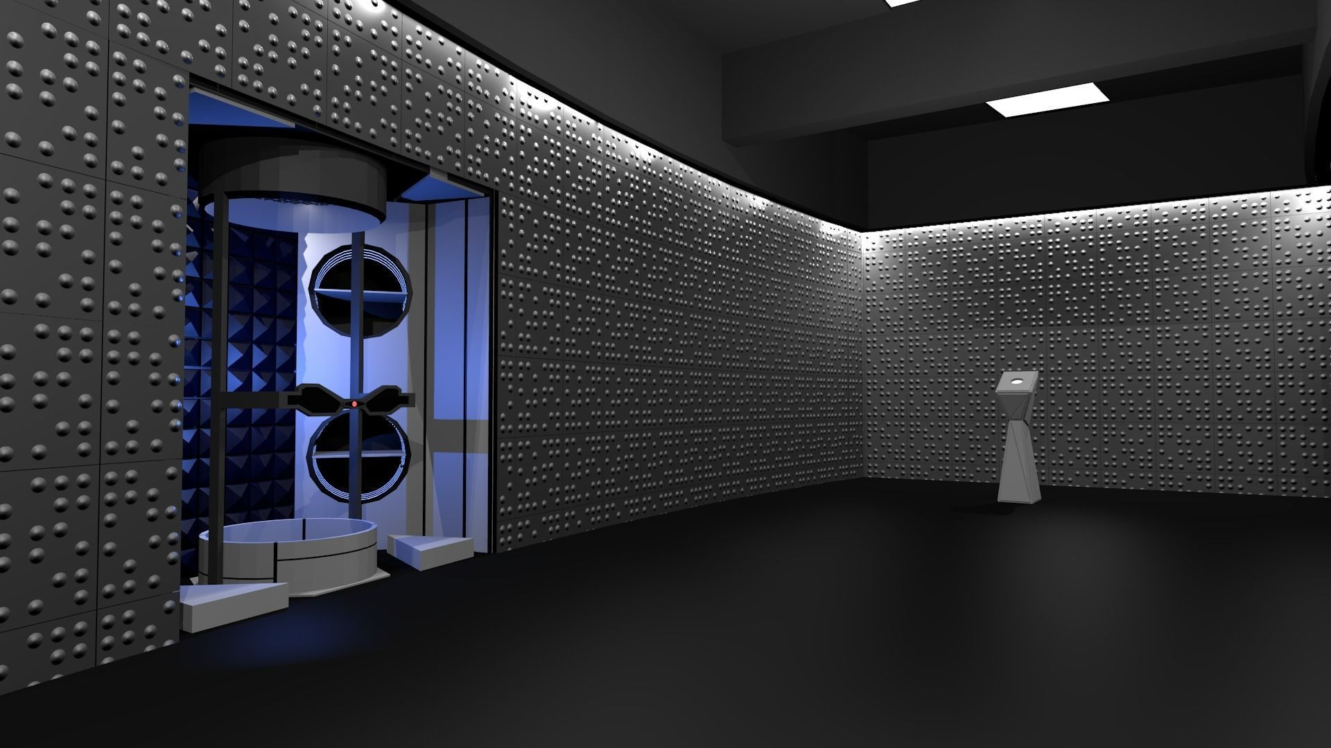 Time vault-Corridors-hall from STAR Labs
