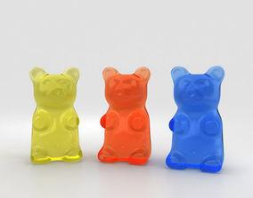 3D Gummy Bear