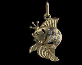 Fish Pendant - 3D Print Model