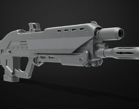 3D print model Cyberpunk 2077 Police Gun