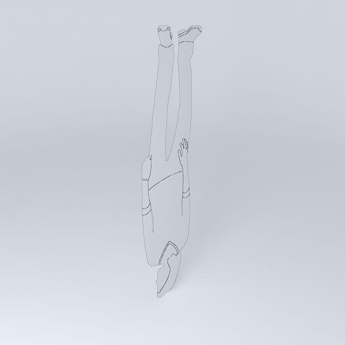 Upside Down Susan Free 3D Model .max .obj .3ds .fbx .stl
