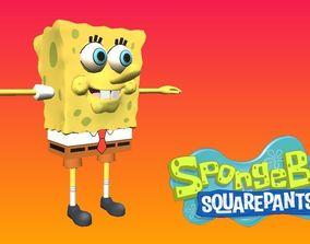 SpongeBob SquarePants 3D asset realtime