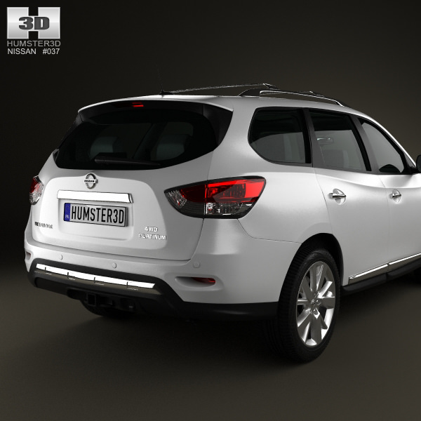 3d Nissan Pathfinder With Hq Interior 2013 Cgtrader