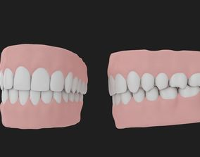 mouth Teeth 3D model