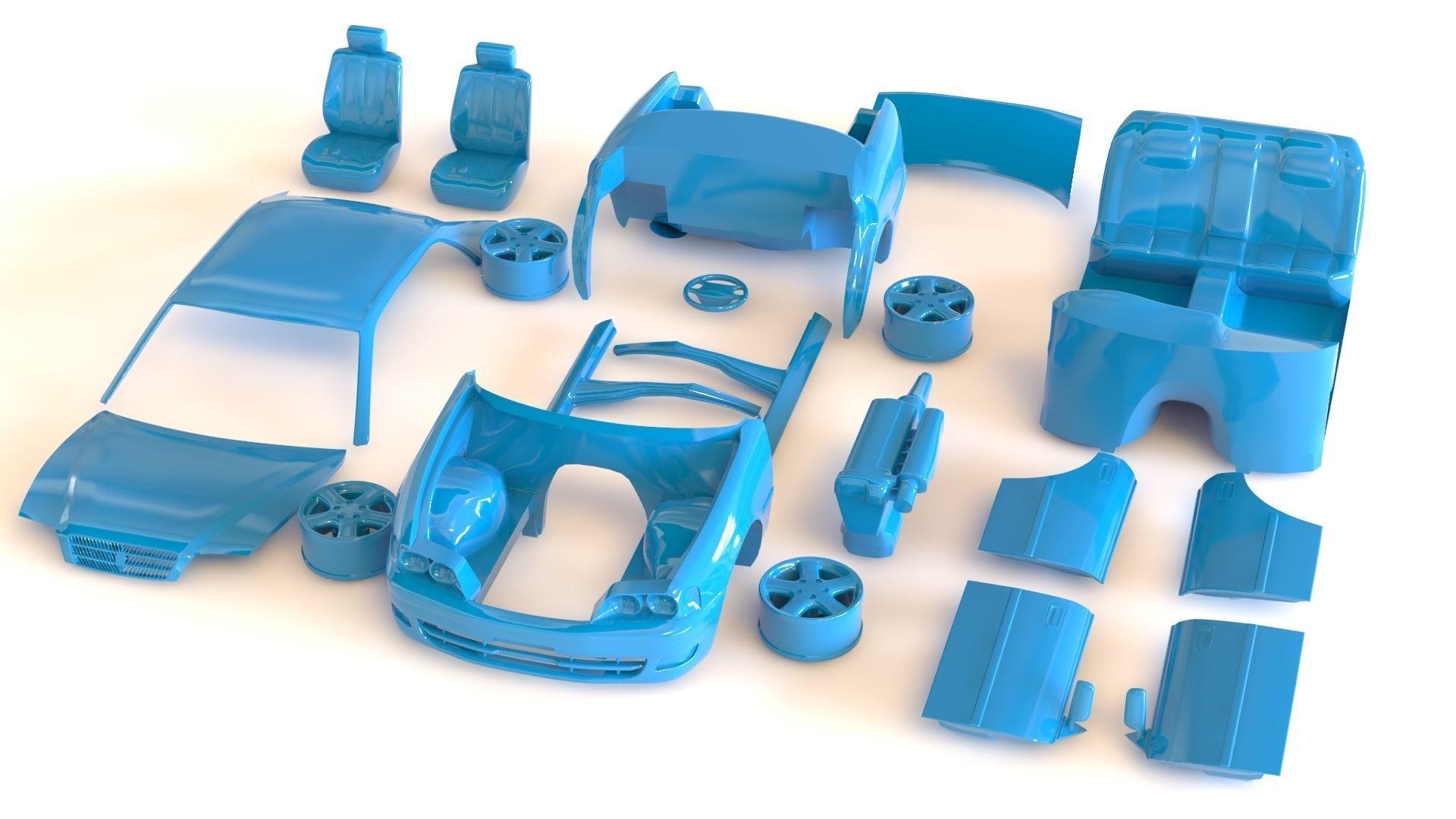 Toyota Chaser JZX100 blueprint kit