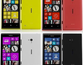 3D Nokia lumia 720 Collection