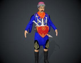 Zeybek 3D model