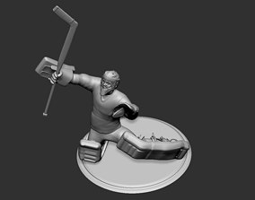 Hockey Player goalie Collectible 5