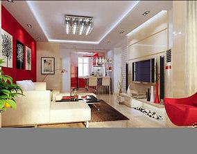3D model MODERN MASTER BEDROOM DESIGN