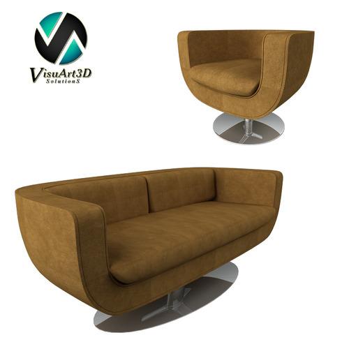 3d model sofa 10