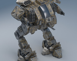 Battle mech Object26 3D model