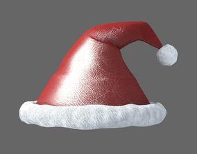 3D Xmas Santa Hat