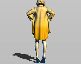 3D printable model Sexy topless girl